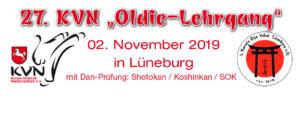 27. KVN-Oldie-Lehrgang 2019 in Lüneburg mit Dan-Prüfung @ Lüneburg