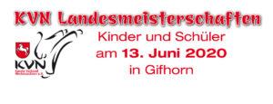 VERSCHOBEN – Landesmeisterschaften Kinder und Schüler 2020 @ Gifhorn